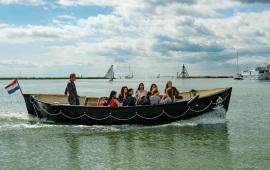 Boat rental Hoorn. Sloop Elektrische sloep