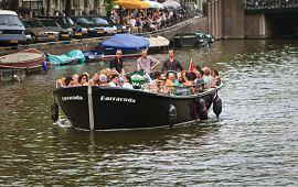 Boot huren Amsterdam. Sloep Barracuda