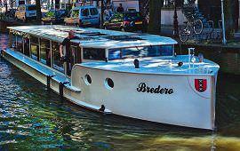 Boot huren Amsterdam. Salonboot Bredero