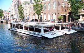 Boot huren Amsterdam. Salonboot Vondel