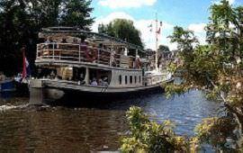 Boot huren Oud-Zuilen. Partyboot M.S. De Tijd