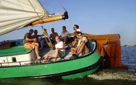 Boot huren Gaastmeer. Skûtsje Dicky van der Werf