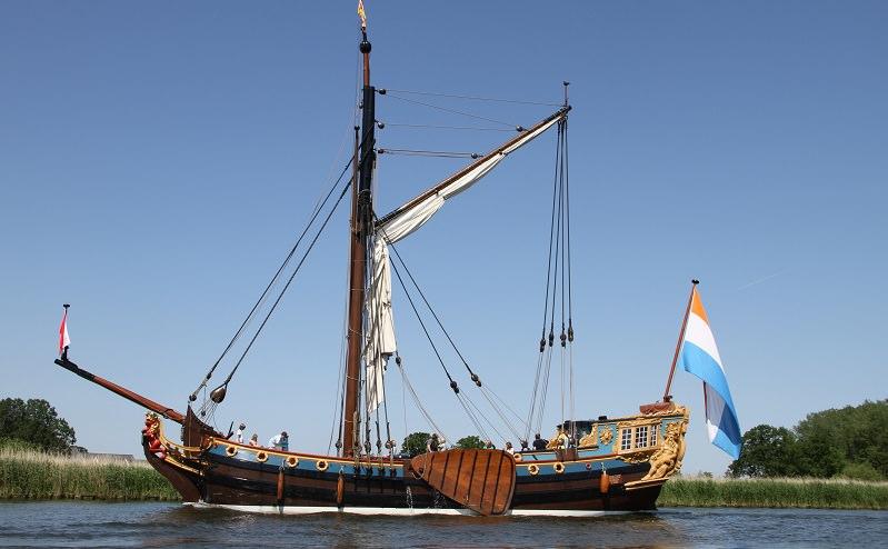 Boot huren Muiden. Statenjacht De Utrecht
