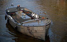 Boot huren Amsterdam. Sloep Ivan Frank