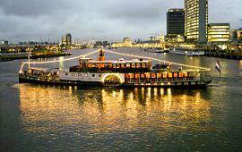 Boot huren Amsterdam. Partyboot Kapitein Anna