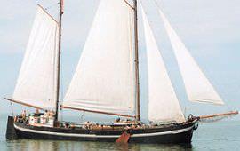 Boot huren Kiel-Holtenau. Klipper Catherina