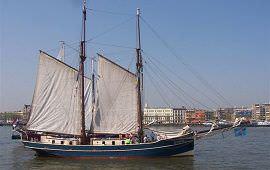 Boot huren Kiel-Holtenau. Klipper Luciana