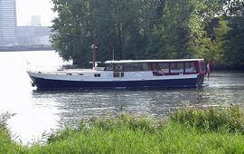 Boot huren Amsterdam. Partyboot Margaretha