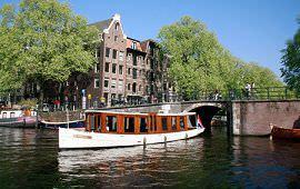 Boot huren Amsterdam. Salonboot Ondine