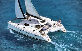 Boot huren Makkum. Catamaran Salty Cat