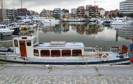 Boot huren Rotterdam. Salonboot Oude Maze