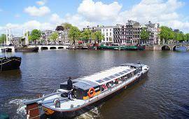 Boot huren Amsterdam. Rondvaartboot Tijd zal het Leeren