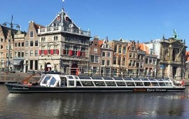 Boot huren Haarlem. Rondvaartboot Adriaen Pauw
