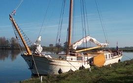 Boot huren Amsterdam. Zeiljacht Anna van Oranje