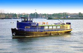 Boot huren Amsterdam. Partyboot Boot II