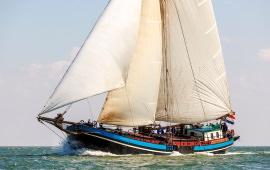 Boot huren Harlingen. Klipper Eendracht