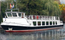 Boot huren Loosdrecht. Partyboot Friesche Poort