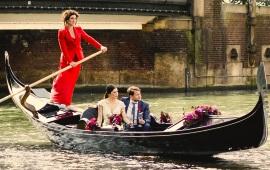 Boot huren Amsterdam. Gondel Venetiaanse gondel