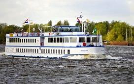 Boot huren Rotterdam. Motorboot MPS Horizon