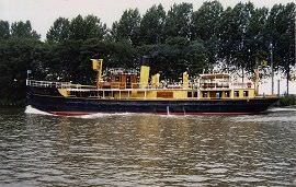 Boot huren Muiden. Partyboot Hydrograaf