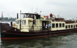 Boot huren Amsterdam. Motorboot IJveer XI