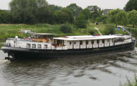 Boot huren Rotterdam. Motorboot Merlijn