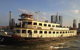 Boot huren Rotterdam. Partyboot Nehalennia