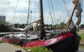 Boot huren Harlingen. Aak Oost-Vlieland