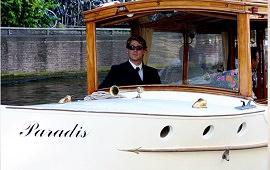 Boot huren Amsterdam. Salonboot Paradis