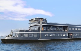 Boot huren Zaandam. Partyboot DOCKS