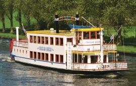 Boot mieten Akkrum. Partyboot Frisian Queen