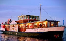 Boot huren Amsterdam. Partyboot M.S. de Jordaan