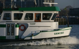 Boot huren Rotterdam. Partyboot Gemini