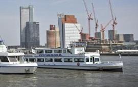 Boot huren Rotterdam. Partyboot Smaragd 2