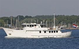 Boot huren Rotterdam. Partyboot Partyjacht Thales