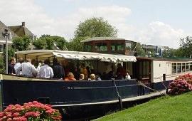 Boot huren Amsterdam. Salonboot Peter de Grote
