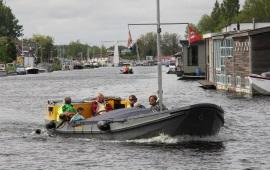 Boot huren Amsterdam. Sloep Wan-Hoop