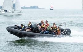 Boot mieten Amsterdam. Schnellboot RibEye