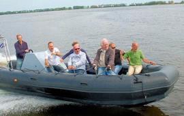 Boot huren Heeg. Speedboot Rib