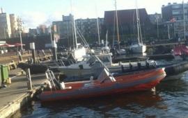 Boot huren Scheveningen. Speedboot RIB V - 150pk