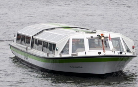 Boat rental . Canal tour boat Corneille