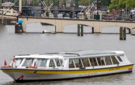 Boat rental . Canal tour boat Anton Dreesmann