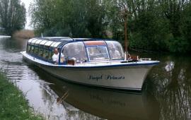 Boot huren Harlingen. Rondvaartboot Mps Singel Prinses