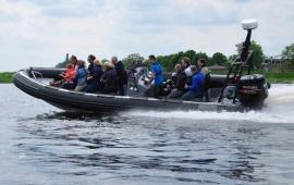 Boot mieten Rotterdam. Schnellboot Agulhas