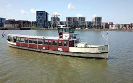 Boot huren Amsterdam. Salonboot Elvira