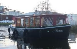 Boot huren Amsterdam. Salonboot Havana