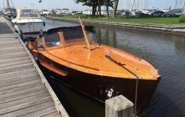 Boot huren Loosdrecht. Motorboot MS Gina