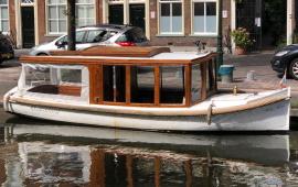 Boot huren Den Haag. Salonboot Stella maris