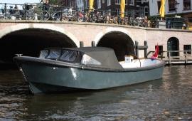 Boot huren Amsterdam. Sloep Max