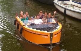 Boot huren Amsterdam. Sloep Supiore